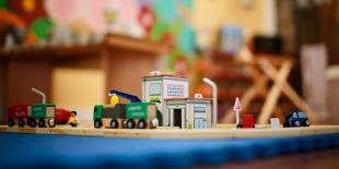 Cocoon Childcare - Wooden Toy Trains